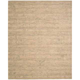 Nourison Silk Elements SKE29 Area Rug (56 x 8 - Beige)