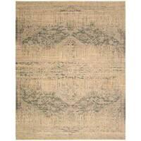 Nourison Silk Elements Beige Rug - 9'9 x 13'