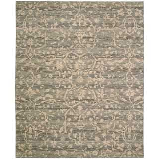 Nourison Silk Elements Taupe Rug (9'9 x 13')