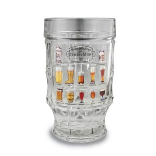 Versil Strassburg Bier Glasses of the World Glass Mug