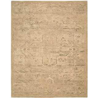 Nourison Silk Elements Sand Rug (9'9 x 13')