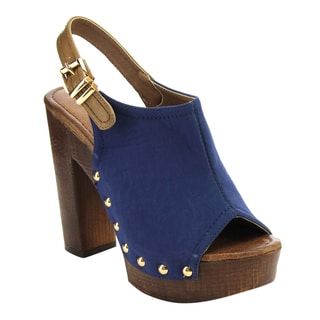 Women's Nature Breeze Studded Chunky Heels