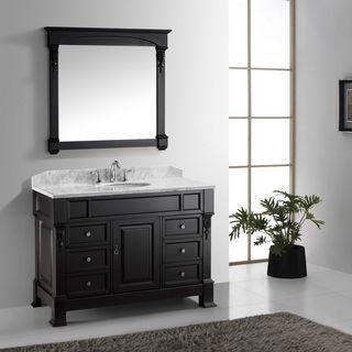 Virtu USA Huntshire Manor 48-inch Single Bathroom Vanity Set with Faucet