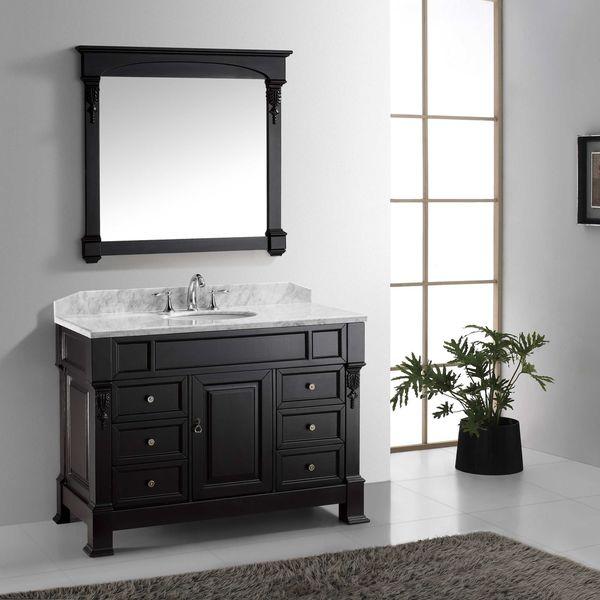 Huntshire Manor 48-in Single Bathroom Vanity with Faucet