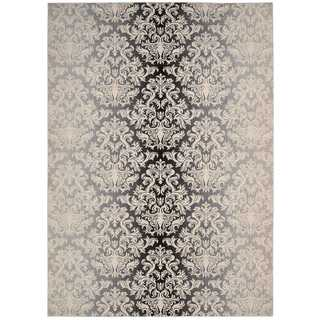 Nourison Riviera Charcoal Rug (9'6 x 13')