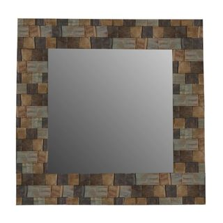 Crafted Home's Paul Wood Mosaic Mirror