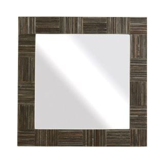Crafted Home's Jesse Wood Square Mirror