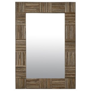 Crafted Home's Jesse Wood Square Rectangle Mirror