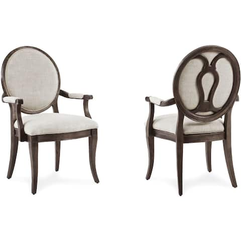 A.R.T. Furniture St. Germain Oval Back Arm Chair (Set of 2)