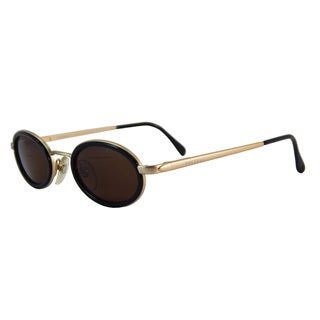 Vecceli Italy Brown Unisex Sunglasses