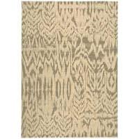 Nourison Nepal Ivory/Grey Rug (9'6 x 13')