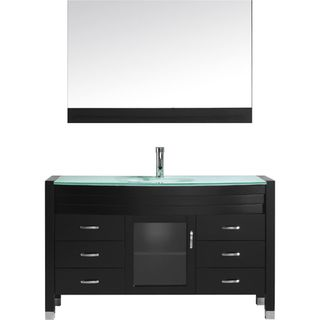 Virtu USA Ava 55-inch Single Bathroom Vanity Set