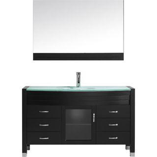 Virtu USA Ava 55-inch Single Bathroom Vanity Set