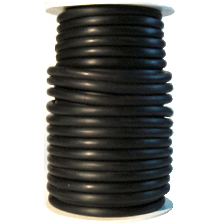 Danielson Black Latex 50-foot 3/16-inch Diameter Tubing (...