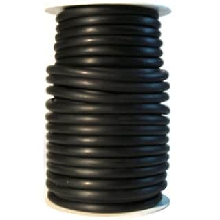 Danielson Black Latex 50-foot 3/16-inch Diameter Tubing