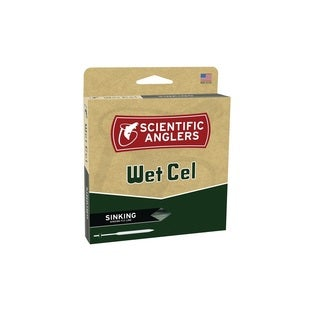 Scientific Anglers WetCel Sinking Fly Line-WF-S-Blk-Sink 6