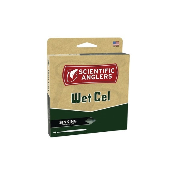 Scientific Anglers Grey WetCel Sinking Fly Line