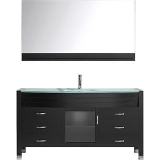 Virtu USA Ava 61-inch Single Bathroom Vanity Set