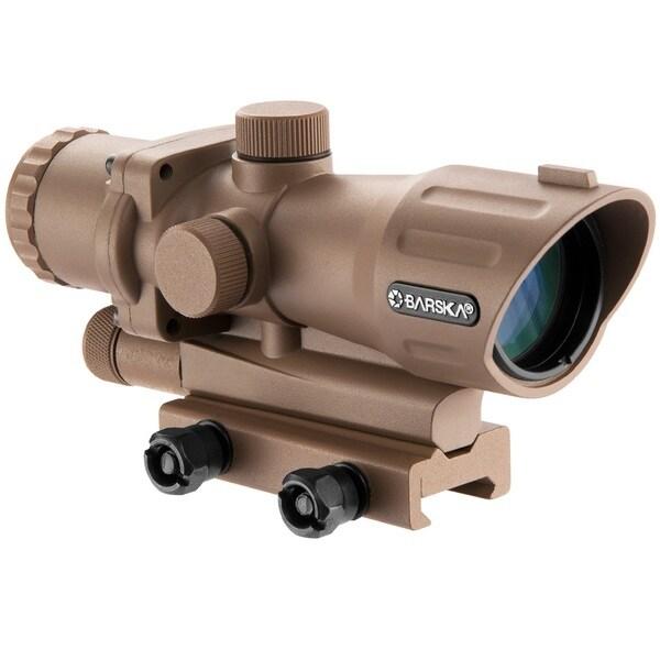 Barska AR-15/M-16 Flat Dark Earth 4x Magnification Electro Sight