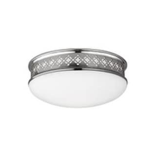 Feiss Devonshire Light Polished Nickel Flushmount
