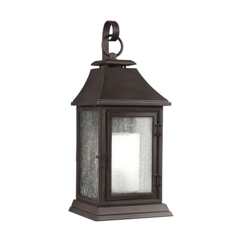 Feiss 1 - Light Outdoor Sconce, Heritage Copper