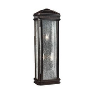 Feiss Federal 3 Light Gilded Bronze Sconce