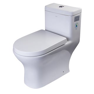 EAGO Dual-flush One-piece Eco-friendly High-efficiency Low-flush Ceramic Toilet