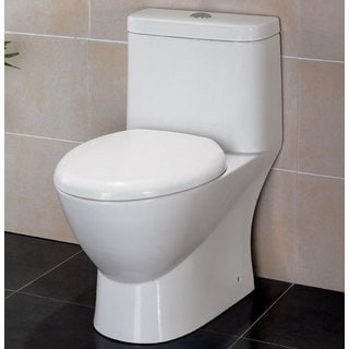 Eago TB346 White Porcelain 1-piece Eco-friendly Low-flush Toilet