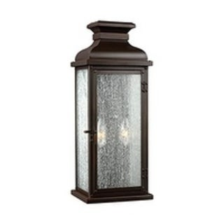 Feiss 2 - Light Outdoor Sconce, Dark Aged Copper