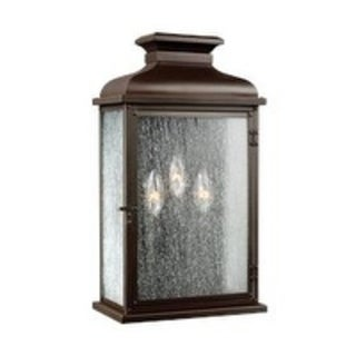 Feiss 3 - Light Outdoor Sconce, Dark Aged Copper