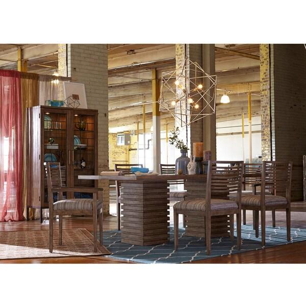 Shop ART Furniture Epicenters Williamsburg Double Pedestal Dining Best Art Dining Room Furniture