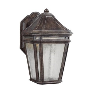 Feiss Londontowne LED Light Weathered Chestnut Sconce