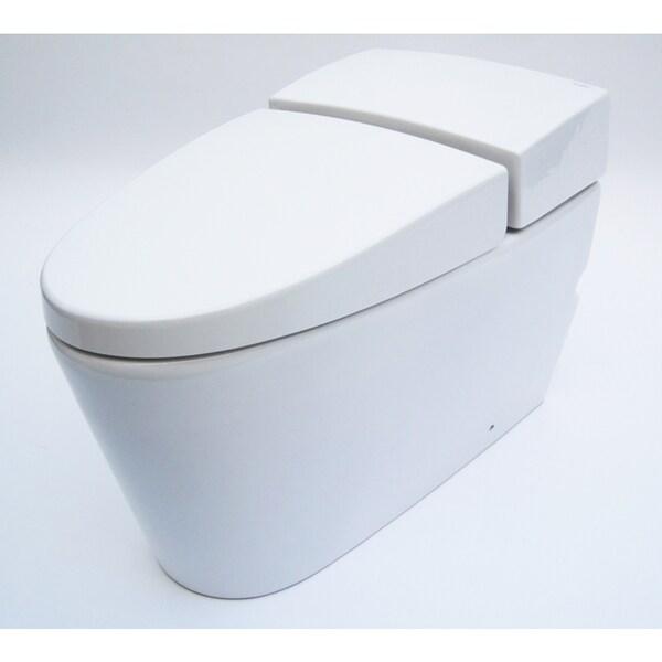 Eago White Ceramic One Piece Ultra Low Single Flush Ecofriendly Toilet