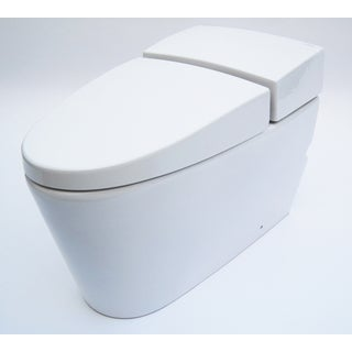 Eago White Ceramic One-piece Ultra-low Single-flush Ecofriendly Toilet