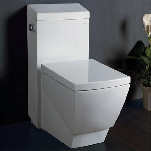 Eago TB336 White Porcelain One-piece High-efficiency Low-flush Eco-friendly Toilet