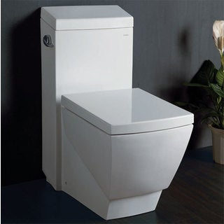 Eago TB336 White Porcelain One-piece High-efficiency Low-flush Eco-friendly Toilet