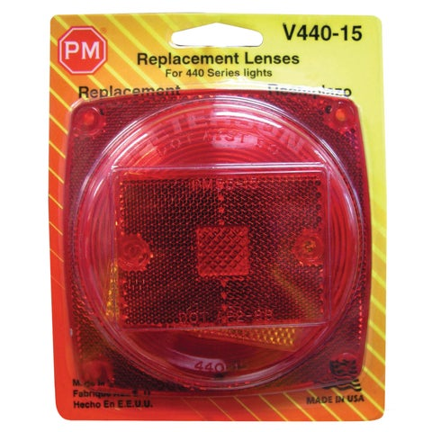 PM V440-15 Red Replacement Lens