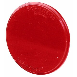 PM V475R Red Round Stick-On Reflector