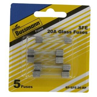 Bussman BP/SFE-20 RP 20 Amp Fuses 5-count