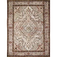 "Noori Rug Distressed Colt Ivory/Red Rug - 9'8"" x 12'6"""