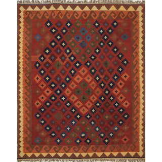Kilim Chelsey Rust Hand-Knotted Rug (8'0 x 9'11)