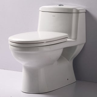 Eago TB222 Dual-flush 1-piece Eco-friendly High-efficiency Low-flush Ceramic Toilet
