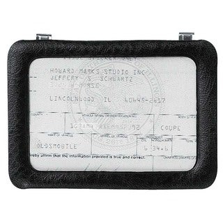 Custom Accessories 43331 Deluxe Registration Holder