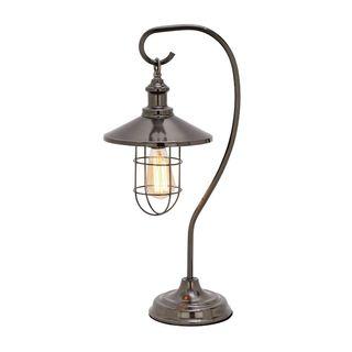 Carbon Loft Copeman Black Metal Table Lamp