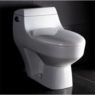 Eago TB108 White Porcelain 1-piece High-efficiency Low-flush Eco-friendly Toilet