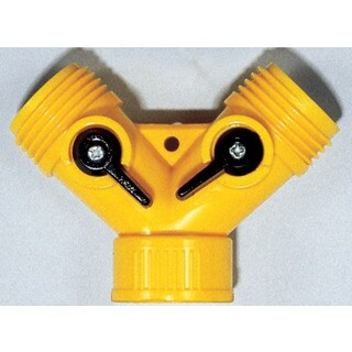 Camco 20073 RV Plastic Y Shut Off Valves