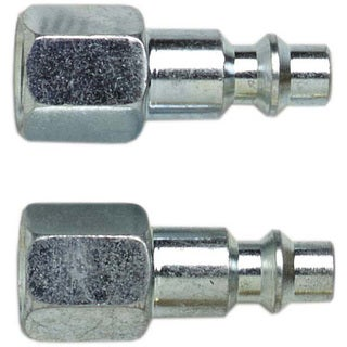 Campbell Hausfield MP2117 1/4-inch NPFT Industrial Style Plug 2-count