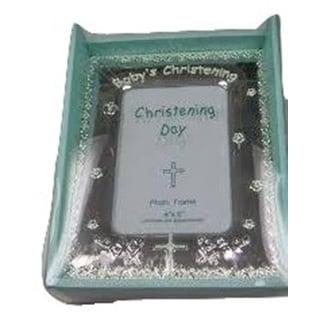 "Elegance Christening 4x6"" Frame"