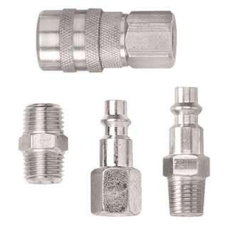 Campbell Hausfield MP2119 1/4-inch Coupler & Plug 4 Piece Set