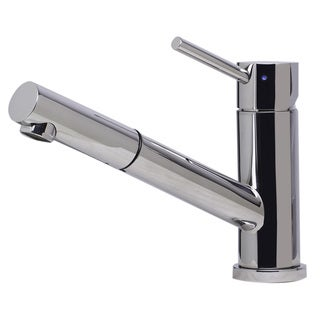 ALFI brand AB2025-PSS Polished Pull-out Single-hole Kitchen Faucet